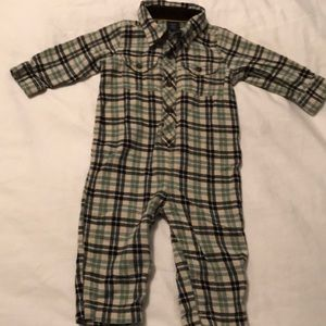 Baby Gap Flannel One Piece Size 12-18 Months